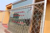 Панель загородки звена цепи горячего DIP гальванизированная