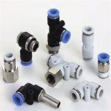 Alta qualidade Empurrar-nos conetores plásticos rápidos pneumáticos