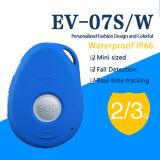 Локатор GPS кнопки отслежывателя EV-07s Sos GPS системы слежения GPS миниый личный