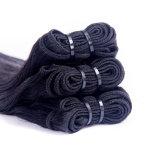 Extensions soyeuses péruviennes de cheveu droit de cheveux humains de Vierge des prix entiers
