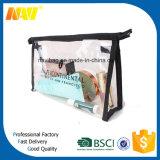 투명한 공간 PVC 비닐 화장품 부대