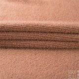 Tessuto Mixed delle lane con buona elasticità in Brown