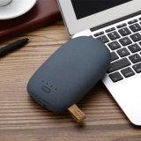 8800mAh 2 chargeur de batterie externe de sauvegarde de sortie gauche du double USB