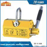Levantador magnético permanente para la placa de acero y el acero redondo 100kg -6000kg