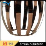 Mobiliário de espelho de alta qualidade Mesa de vidro de lado