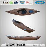 Habitacle non gonflable unique de plastique de siège voyageant le kayak