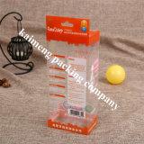 Empaquetado plástico clásico plegable de China y rectángulo del cartón para las tazas