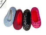 Quatre chaussures d'intérieur des femmes d'impression de couleur (RY-SL16106)
