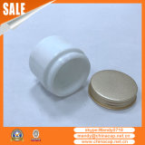China Supplier Ceramic Glass Jar Alumínio Screw Cap