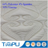 Tela viscosa/polivinílica de la venta caliente del Knit del telar jacquar para el colchón