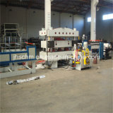 PE pp Stempelmachine Hoting van het Leer van pvc de Plastic Materiële Vlakke