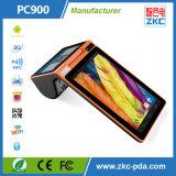 Androide Tablette mit Drucker, Barcode-Scanner, NFC u. RFID Chipkarte-Leser