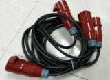 Cable de transmisión con el varón de la forma de 63 A.C. a la hembra