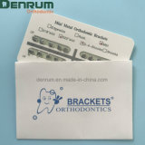 Denrumの歯科歯科矯正学の網ベースセリウムISOのFDAが付いている小型Mbtブラケット