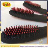 75W ha riscaldato i capelli di ceramica del FCC RoHS del Ce della spazzola che raddrizzano la spazzola