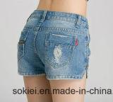 Automatische nähende Jeans-Scheiße-Pocket anbringende spezielle Nähmaschine