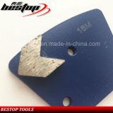 Bonddiamant-Schleifplatte des Medium-16# mit einzelnem Pfeil-Segment