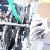 Machine à équilibrer turbocompresseur avec unité de mesure intégrée