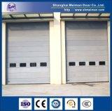 Portes sectionnelles industrielles automatiques en acier galvanisées avec du ce certifié