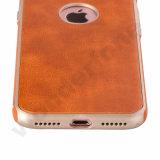 Orange Haut-Pasten-Kasten der Farben-TPU für iPhone 7
