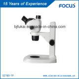 Microscópio de zoom contínuo para excelente qualidade