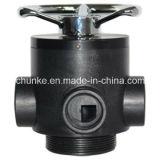 Válvula de control de flujo de Wate para el tratamiento de aguas