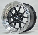 جديدة تصميم سوق سبيكة عجلة مع 10 مكبح في سوداء آلة وجه