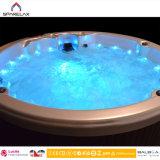 Sistema de control redondo de acrílico al aire libre del balboa de la piscina del BALNEARIO