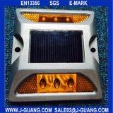 Желтый отражательный алюминиевый стержень дороги глаз стержня/кота дороги