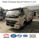 camion Euro4 de lavage de balayeuse de route de 7cbm Dongfeng Nissan