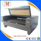요가 매트 (JM-1810T-CCD)를 위한 2개의 색깔 Laser 기계