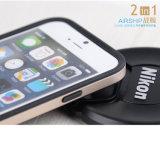 Antichoc 2 dans 1 caisse de dirigeable cas protecteur pour d'iPhone interpréteur de commandes interactif lourd de PC + de TPU