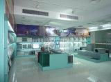 Weißes Stahlqualitäts-Tellerableerventil für Luft-Abgas innerhalb des Gebäudes