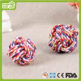 綿ロープの球犬のおもちゃの咀嚼の製品