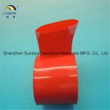 Tube flexible de film thermo-rétrécissable de PVC pour l'emballage de 18650 batteries