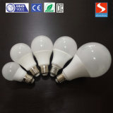 Ofertas calientes de aluminio PBT Material de 12W LED de la lámpara del bulbo