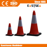 Red 750mm Reflective PE plastique Traffic Facilities Cone