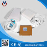 impulsionador do sinal do telefone de pilha 850/1800MHz para a HOME e o escritório