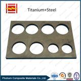 Junta bimetálica Titanium de la transición/barra conductora revestida Titanium