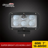 """7 """" 60W alta luz de conducción ligera de la eficacia LED"""