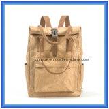 Sac occasionnel de papier de sac à dos d'école de Dupont personnalisé par modèle de jeunes, sac d'emballage de papier d'achats de sac de main de Tyvek de promotion chaude