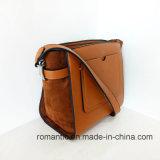 Klassische Handtaschen-Plüsch-Handgroßhandelsbeutel der Dame-PU (NMDK-033002)
