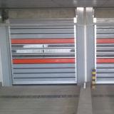 Дверь трудной быстрой двери турбины промышленная алюминиевая высокоскоростная