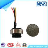 Sensor da pressão de água do preço de fábrica 0.5-4.5V/0-5V/0.2-2.9V/4.75-5.25V mini, OEM&ODM disponível