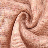 Solid Colors Head Hijab garni d'une écharpe mousseuse en polyester