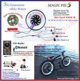Motor eléctrico de la empanada 5 de la generación 500W-1000W de la bici del kit de la E-Bici del kit eléctrico mágico Bike/BLDC del H3AGALO USTED MISMO