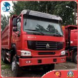 China_Top_Brand LHD 6X4 336HP Camion benne HOWO Sinotruk d'occasion (2012Year_2014Année)