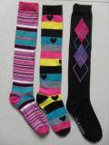 Frauen-/Ladies-Baumwolllange schürende Socken