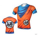 Hombres Impresión Compresión Reflexiva Diseño Sublimado Fitness Ropa Deportiva