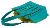 携帯用方法フェルトの網のハンドバッグ
